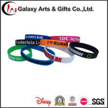China Wholesale Market Rubber Silicone Wristband