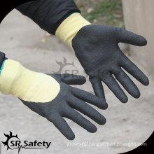 SRSAFETY 13G Cut Resistant Micro Foam Nitrile Working Glove/ aramid fiber work gloves/ aramid fiber anti cut glove