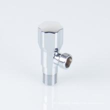 Brass angle valve plastic handle copper angle stop valve