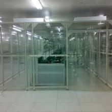 Sala blanca modular Hardwall personalizada para productos farmacéuticos