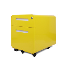 Günstigster rollender Stahl-Aktenschrank für Bürobedarf