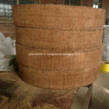 Rouleau de doublure de frein en résine tissé brun