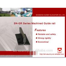 Aluminium guide rail/ Guide Rail for elevator/ Elevator parts