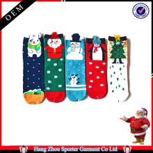 16FZCSS1 holiday jacquard christmas sock