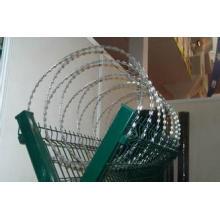 Cerca de metal galvanizado de alta segurança e qualidade para aeroporto