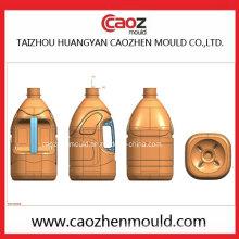 Fabrication professionnelle de bouteille d'huile plastique Moule soufflante