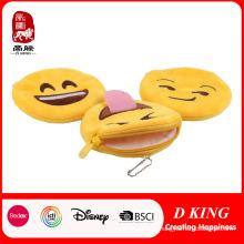 Porte-monnaie fourré personnalisé Emoji
