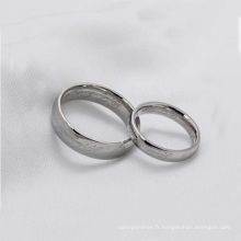 Anneaux de promesse de couple bon marché de haute qualité, le seigneur des bijoux d'anneau