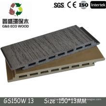 WPC co-extrusion composite decking floor tiles