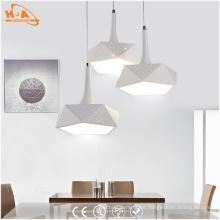 Iluminación pendiente interior decorativa de la luz LED del precio de fábrica