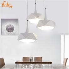 Iluminação decorativa interna do pendente do diodo emissor de luz da luz do preço de fábrica