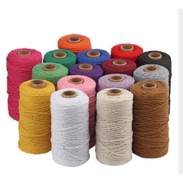Factory wholesale  cotton cord 2mm cotton rope