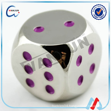souvenir embossed custom made dice