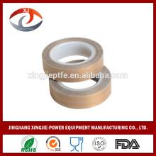 0.13mm 0.18mm hot resistance PTFE fiber glass hot resistant ptfe adhesive tape