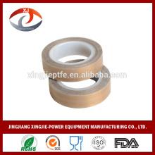 Fita chinesa de calor de fibra de vidro revestida de PTFE com baixo preço de SGS / FDA em fita resistente e anti-stick de alta temperatura