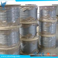 ASTM A276 AISI316L cable de soldadura de acero inoxidable