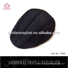 Мужская новобрачная черная шляпа плюща