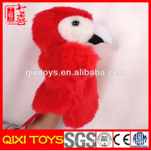 2014 the best selling products parrot hand puppet made in china