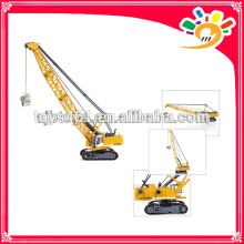 Diecast TOWER EXCAVATER model toy truck high details 1:87 metal crane toy KDW model