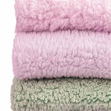 Tissu velours polaire Sherpa teint