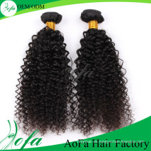 Extensión profesional del pelo humano de la Virgen Remy Hair del fabricante