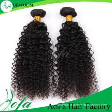 Extensão profissional do cabelo humano do cabelo de Remy do Virgin do fabricante