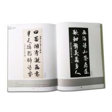 Hochwertige Softcover Kunst Arbeit Sammlung Fotobuch Druck