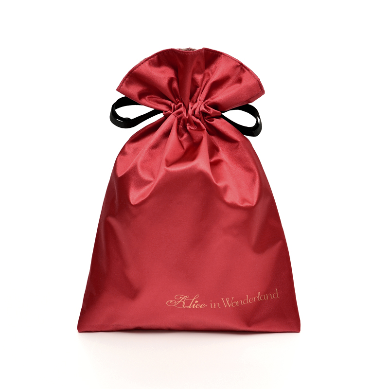 Promotional Christmas Satin Hair Bag