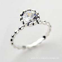 925 ювелирных изделий стерлингового серебра Оптовое новое ретро кольцо диаманта стерлингового серебра 925