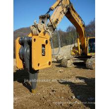 JISAN brand DLK series vibro ripper vibrating ripper vibratory excavator for EC360B