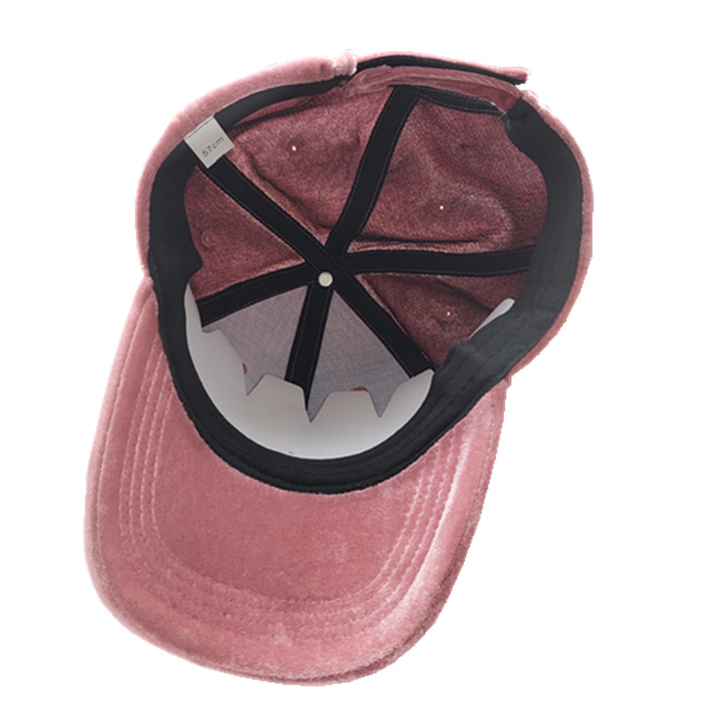 pleuche customized logo baseball cap