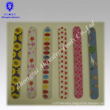 Manufacture beautiful printed EVA nail tools with package