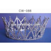 Decoración decorativa de la corona de la tiara del peine
