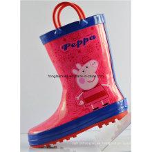 Niños no deslizamiento de lluvia botas de lluvia 02
