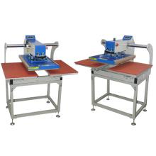 pneumatic auto dual heat press machine for sale