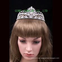 Diseño de moda Crystal Tiara brillante Rhinestone Crown