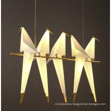 Modern Art Bird Pendant Ceiling Lighting Lamp Chandelier For Home