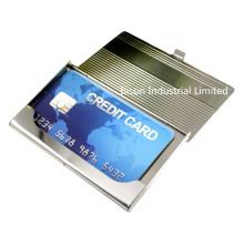 Titulaire de carte de crédit en acier inoxydable à vente chaude (BS-S-018B)