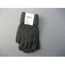 10g Polyester Liner Diomand-Shaped Fashion Work Glove