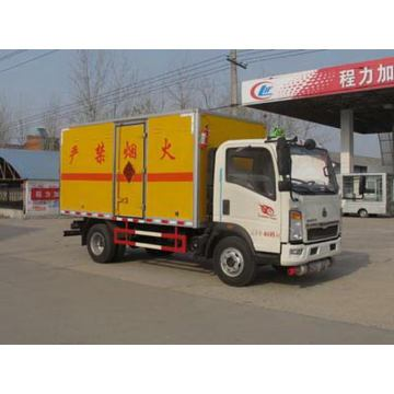 SINOTRUCK Blasting Equipment Transportation Truck
