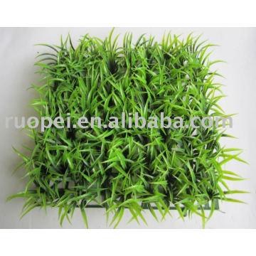 Esteira de grama artificial de plástico decoração de jardim