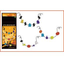 Kinder DIY handgemachte Kreuz EVA Halskette