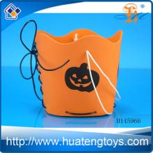 Venta al por mayor de barril de caramelo de Halloween, calabaza DIY barril para la decoración de Halloween para regalo de promoción H145966