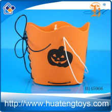 Wholesale Halloween candy barrel,pumpkin DIY barrel for halloween decoration for promotion gift H145966