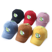 Children corduroy cartoon dinosaur baseball cap