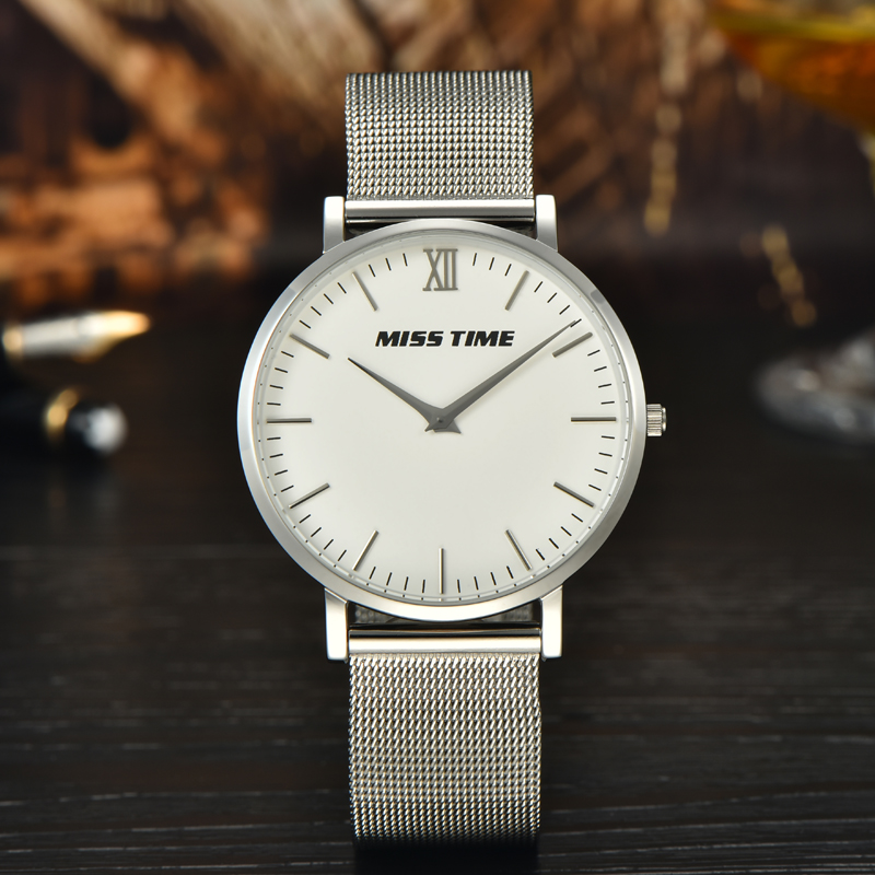 custom latest stainless steel case model men's watch