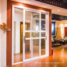 low cost /cheap/economical PVC new products pvc sliding doors profile for house in italy style