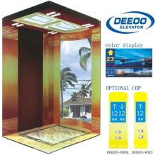 400kg Confortável Vvvf Luxo Residencial Casa Elevador