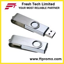 New Design Metal Swivel USB Flash Drive (D308)