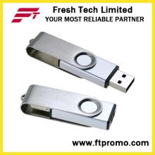 New Design Metal Swivel USB Flash Drive (D308)